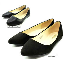 New women basic pointee toe ballet flats slip on loafer shoes / Free Shipping