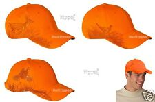 DRI DUCK Blaze Orange Cap Buck Deer Pheasant Quail Elk Baseball Hat
