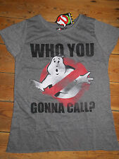 GHOSTBUSTERS MOVIE T Shirt  Primark Ladies Womens WHO YOU GONNA CALL?