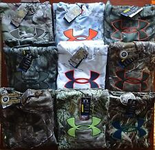 Under Armour Men's Camo Big Logo Hoodie NWT Hunting Stitched