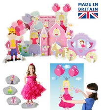 Princess Party Games - set of 3 for children, kids ebay