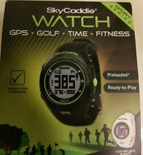 SKYCADDIE GOLF GPS WATCH RANGEFINDER - BLACK - NEW