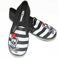 Slip on, gothique, rock, emo DRAVEN LITTLE SKULL SIDE
