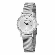 Stuhrling Original Women's 734LM Ascot Casatorra Elite Stainless Steel Watch