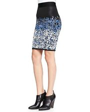 NEW BCBG MAX AZRIA PAVEL BLACK COMBO SKIRT SSX3E874 XS $198.00