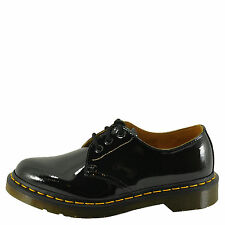 Dr. Martens 1461 3 Eye Women's Black Patent Leather Oxfords 11838600