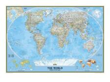 World Political Map Art Print by National Geographic Maps, Wall Decor Home