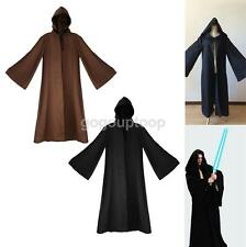 Jedi Sith Hooded Cape Cloak Costume Cosplay Party Gifts