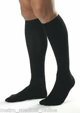 JOBST for Men 20-30 mmHg Compression Socks Knee High, Ribbed, Closed Toe