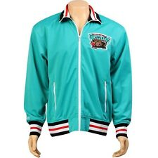 Mitchell And Ness Vancouver Grizzlies NBA Preseason Warm Up Track Jacket (teal)