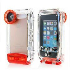 Waterproof Underwater Diving 40m Photo Housing Shell Case for iPhone SE 5S 5 5c