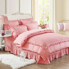 New Single/Double/Queen Bed Linen Dots Quilt/Duvet/Doona Cover Set Bedding Sets