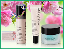 Mary Kay TimeWise Age-Fighting Eye Cream Soothing Gel Firming Eye Cream Tissues