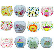 Baby Boy Pee Potty Training Cloth Diaper Pants Nappy Infant Toddler Underwear