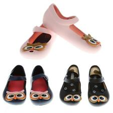 Girls Sandals Soft Baby Beach Shoes Jelly Summer Children Kids Rain Boots Owl