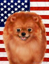 Pomeranian: House Flags and Garden Flags. In three designs and two sizes