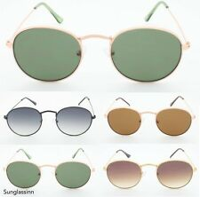 Retro Hippie VTG  Lennon Miley Aviator Boho Style Women's Round Oval Sunglasses