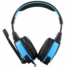 Each G4000 USB Gaming Heaset Stereo Heaphones w/ In-line Mic Volume Control
