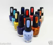 OPI Nail Polish Euro Centrale Central Collection Variations Colors .5oz/15ml