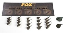 FOX CARP FISHING CAMOTEX LEADS FISHING WEIGHTS SINKERS SWIVEL, IN-LINE, DISTANCE