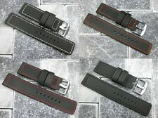 22mm Quality Maratac Rubber Composite Diver Strap Watch Band PVC UK