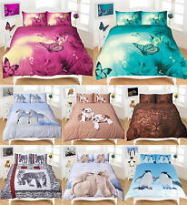 Luxury 3D Animal Design Print Duvet Cover Set, Single, Double, King, Super King