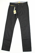 Alviero Martini 1A Classe Mens Slim Fit Jeans - Grey Wool
