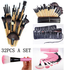 32pcs set Makeup Brush Set with bag Cosmetic Foundation blending pencil brushes