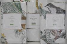 NEW POTTERY BARN Winter Fauna Queen King DUVET COVER Euro 2 SHAM 3PCS Christamas