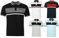 Mens NewPierre Cardin Contrasting Panels Taped Polo Shirt Top Size S-XXXL
