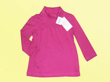 Girl Pullover Turtleneck Roll Neck Jumper Long sleeves Sz. 92-134 NEW pink