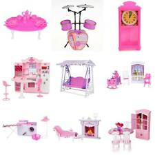 Doll House Miniature Furniture Accessory Pretend Play Set For Barbie Kelly Dolls