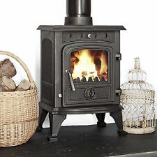 Highclere 4 - 4.5kw  Multifuel Woodburning Stove Stoves log burner Cast Iron