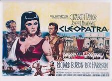ELIZABETH TAYLOR, CLEOPATRA REPRODUCTION MOVIE POSTER A3 or A4 OPTIONS AVAILABLE