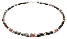 DAMALI Men Handmade Beaded Crystal Healing Intention Necklace: Wise Choices