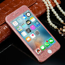 Glitter Bling Full Body Sticker Protector Case Cover Skin for iPhone 5 6 6 Plus