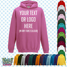 Custom Personalised Baby/Kids/Childrens HOODIE Name Funny Gift- Your text/logo 2
