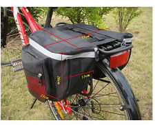 New Cycling Bicycle Bike Rack Rear Seat Tail Carrier Trunk Double Pannier Bag
