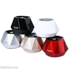 Mini Diamond Design Wireless Bluetooth 3.0+EDR Stereo Speaker Built-in Microphon