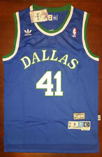 Adidas NBA Dallas Mavericks Dirk Nowitzki Hardwood Classic Swingman Men Jersey