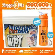 INTERNATIONAL PROTEIN AMINO CHARGED WPI 3KG WHEY PROTEIN ISOLATE WPI WPC