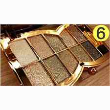 2016New 10Colors Shimmer Eyeshadow Palette & Makeup Cosmetic Brush Eye Shadow