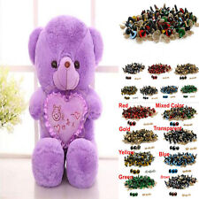 100Pcs Plastic Safety Eyes For Children Doll Animal Puppet Toy Craft Making