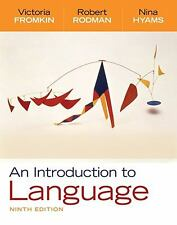 An Introduction to Language by Nina Hyams, Robert Rodman and Victoria Fromkin...
