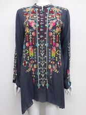 NWT Johnny Was Embroidered Jezabelle Flared Tunic - M - JW13840716