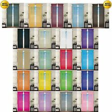 """2 PCS 60""""x 84"""" Solid Sheer Window Panels Curtains Brand New Curtains"""
