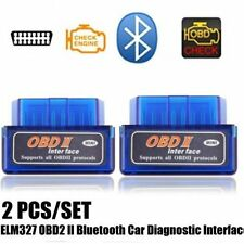 Bluetooth ELM327 OBD2 II Car Diagnostic Code Scan Tool For iPhone Android New SY