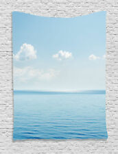 Aquatic Seascape of Tropical Relaxation on Coast Art Print Wall Hanging Tapestry