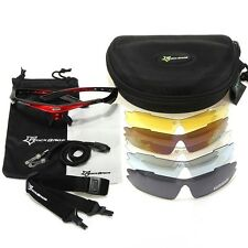 RockBros Polarized Cycling Bike Bicycle Sunglasses Glasses Goggles Case Bag Rope