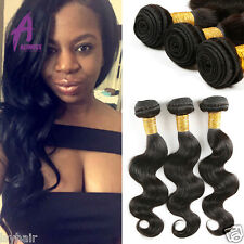 300g body wave Brazilian Virgin Hair Bundles Human Hair weave Extensions weft
